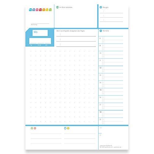 weekview DayPad 2.0 | Der A5 NotizBlock für das Wichtigste des Tages