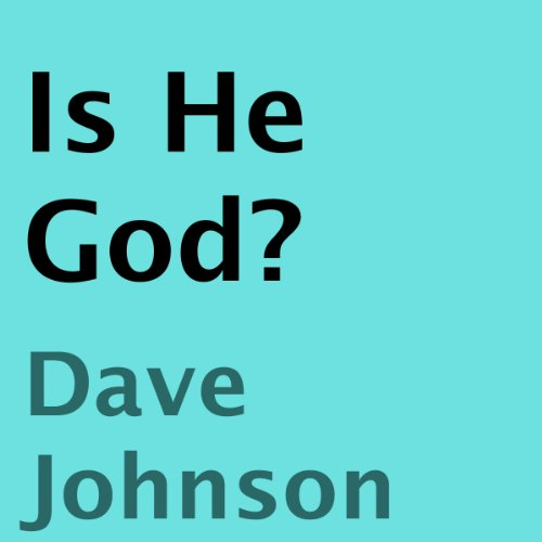 Is He God? audiobook cover art
