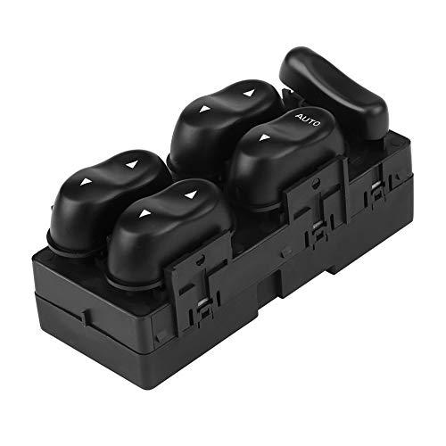 KIMISS Interruptor de elevalunas eléctrico para Coche, Interruptor de Ventana Maestro de Potencia automotriz para XR6 XR8, FDFC-141302-0