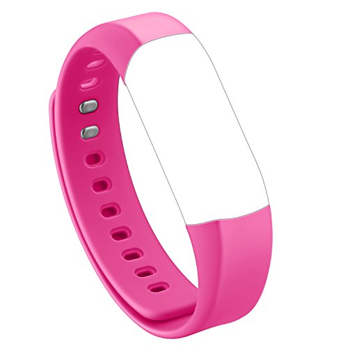 HolyHigh Herzfrequenz Monitor Band Adjustable Replacement Strap for Vigorun 4 HR Fitness Armband (Rosa)