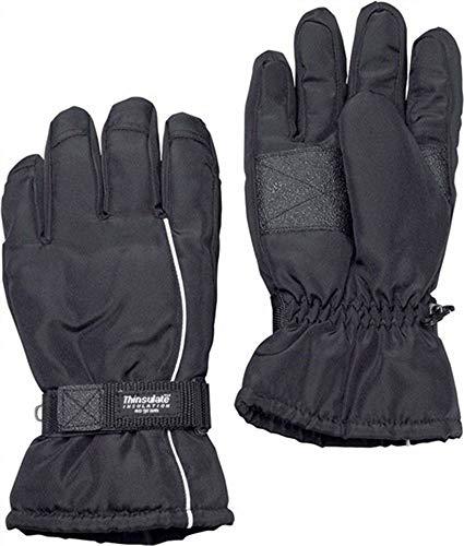 Skihandschuhe Gr.XL schwarz mit Thinsulate wasserabweisend