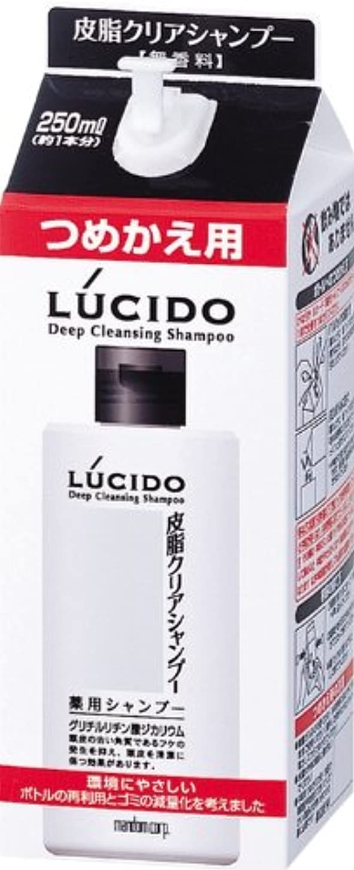 ピッチャー騒々しい奨励LUCIDO (ルシード) 皮脂クリア薬用シャンプー 詰め替え用 (医薬部外品) 250mL