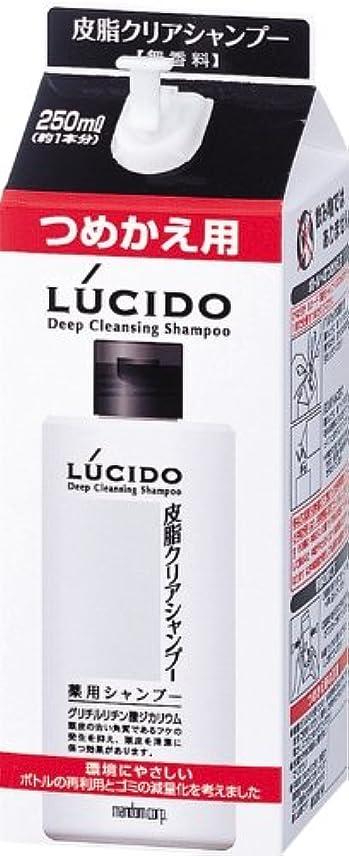 プレゼンテーションあえぎ戦略LUCIDO (ルシード) 皮脂クリア薬用シャンプー 詰め替え用 (医薬部外品) 250mL