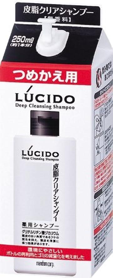お嬢コール経験者LUCIDO (ルシード) 皮脂クリア薬用シャンプー 詰め替え用 (医薬部外品) 250mL