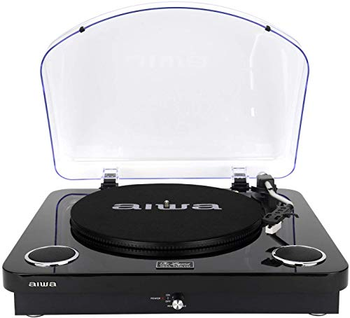 AIWA GBTUR-120MKII (UK) All in one Turntable/Music Centre wireless Bluetooth v 5.0/ Radio/Built in...