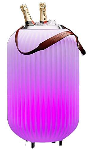 The.Lampion L (Multicolor und SYNC) - Bluetooth-Lautsprecher, Weinkühler/Getränkehalter und Design LED (Mehrfarbig) Lampe (Indoor und Outdoor)