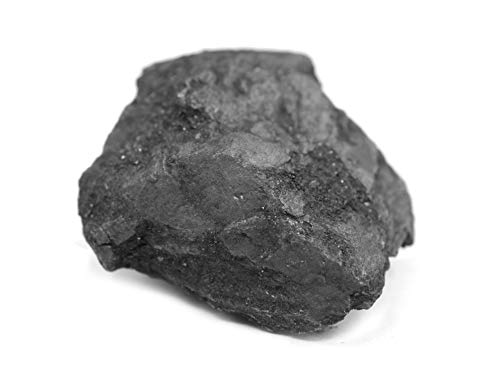 Raw Graphite, Pure Carbon Specimen - Approx. 1' - Geologist Selected & Hand Processed - Great for Science Classrooms - Eisco Labs