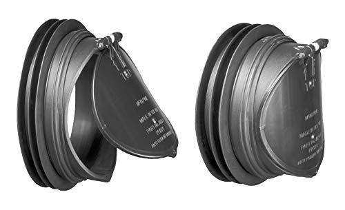 Mcalpine ARB-1 Anti-Rutsch-Deckel, Schwarz