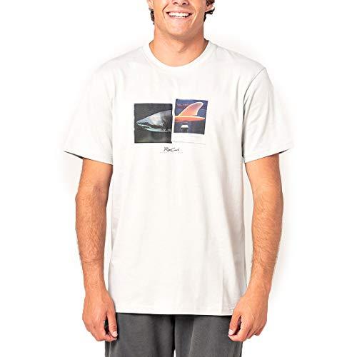 Rip Curl Camiseta para hombre Good Day Bad Day hueso XL