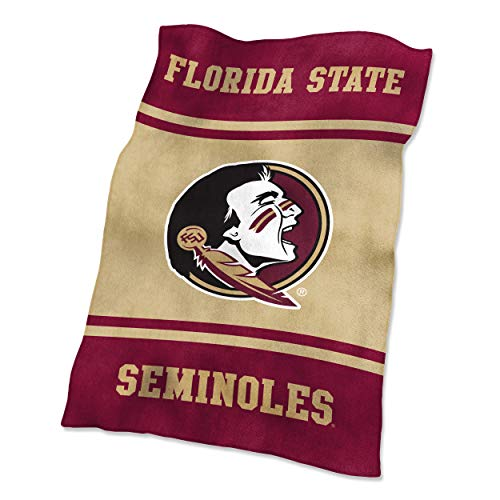 Logo Brands NCAA Florida State Seminoles UltraSoft Blanket, One Size, Team Color