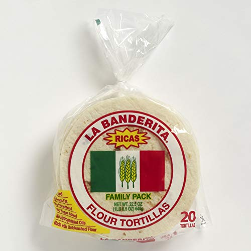 La Banderita Family Pack Flour Tortillas