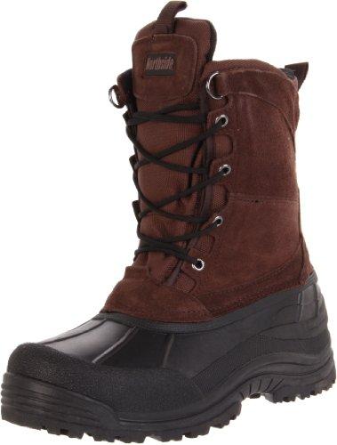 Northside Men's Everest Winter Boot,Dark Brown,12 M US
