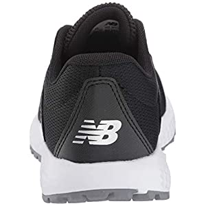 New Balance Women's 520 V5 Running Shoe, Black/White, 10 M US