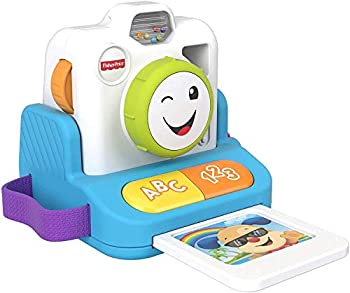 Fisher-Price Laugh & Learn Click & Learn Instant Camera Musical Toy