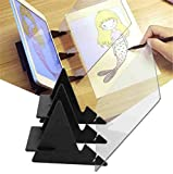 HD Optical Dessert Projector Decor Icing Tracer, Portable Optical tracing Board Copy pad Panel, Optical Image Drawing Board, Art Projector for Drawing for Students Adults Artists Beginners