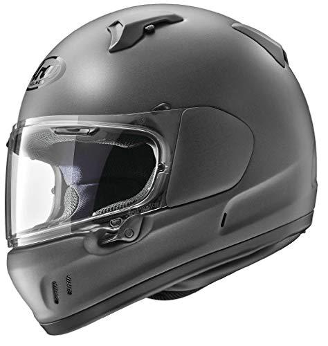 Arai Defiant-X Solid Adult Street Motorcycle Helmet - Gun Metallic Frost/Large