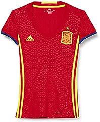 adidas 1ª Equipación Federación Española de Fútbol 2016/2017 - Camiseta Oficial Mujer, Talla 2XS