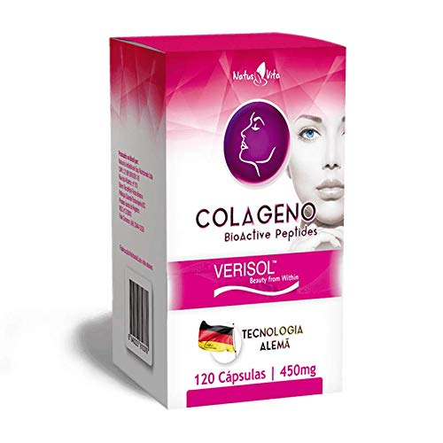 Colágeno Verisol com Bio Peptídeos. 120 cápsulas - Natusvita