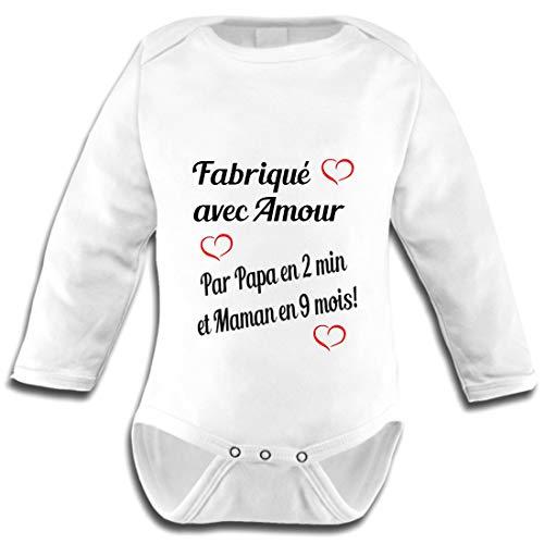 Les lutins de Camille-Body bb Humour pour garon Fabriqu avec...