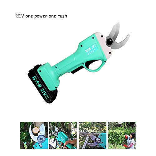 Why Choose 21V -2.0Ah Battery Capacity Cordless Anti Cut Safety Electric Pruner Gardening Pruning Sh...