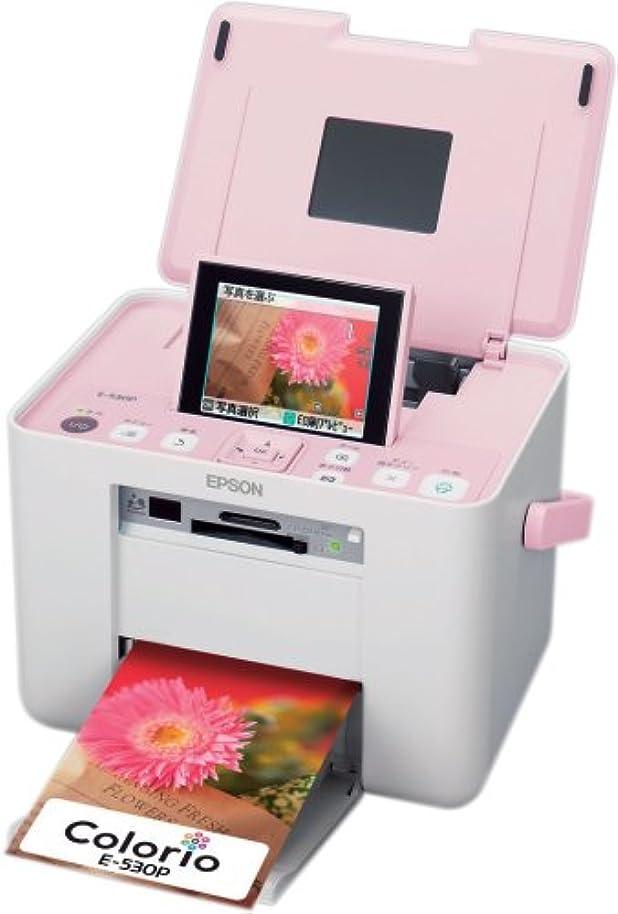 賛辞解明パーチナシティEPSON Colorio me コンパクトフォトプリンタ 3.6型TFTカラー液晶 高速赤外線通信標準搭載 Sugar Pink E-530P