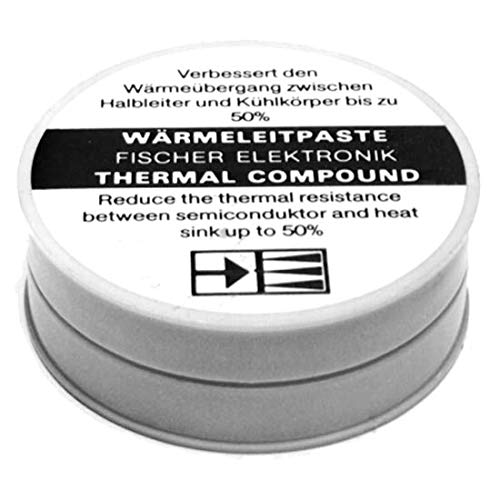 Fischer Elektronik Wärmeleitpaste und Wärmeleitfilm WLP 500 - Dose a 500 g
