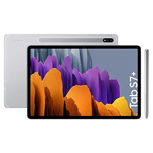 SAMSUNG Galaxy Tab S7 Plus 12,4' 6GB/128GB WiFi Plata (Mystic Silver) T970N