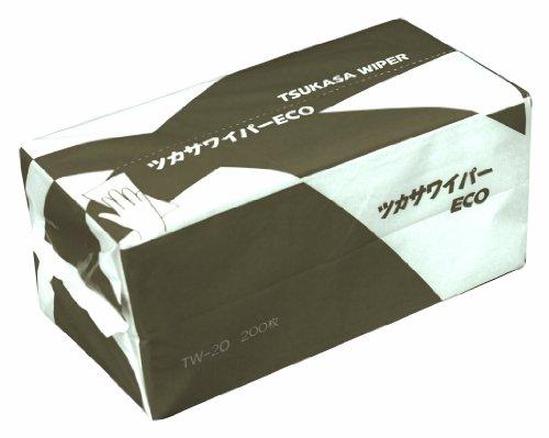 司化成工業 ツカサ ツカサワイパー(ペーパータオル)TW-20 TW-20 1ケース(6000枚) 792-2949