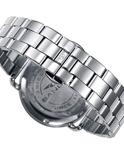 Sandoz 81497-54 Reloj Hombre Cuarzo Suizo Acero Tamaño 42 mm Brazalete