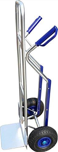 Carrello trasporto pacchi In alluminio Portata massima 150 kg.