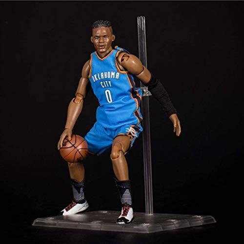 WSWJ NBA: Oklahoma City Thunder - Russell Westbrook Acción figurs de colección de Vinilo Figura 22cm