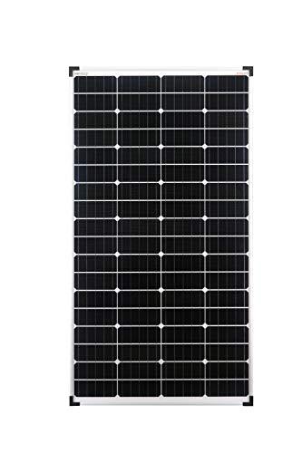 enjoysolar® Mono 140W Monokristallin Solarpanel Solarmodul 12V ideal für Wohnmobil, Gartenhäuse, Boot