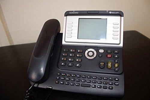 Alcatel-Lucent IP Touch 4068 - Teléfono IP (Negro, 240 x 320 Pixeles, 1,07 kg, IEEE 802.3, IEEE 802.3u, IEEE 802.3ab, 240 x 188 x 133 mm)