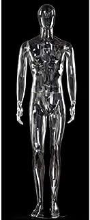 trasparente da uomo infrangibile fissaggio a polpaccio per le scarpe Manichino per vetrina