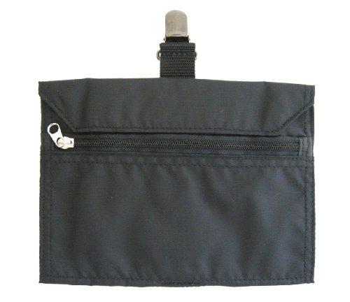JTB商事 【貴重品入れ】 ネオ スライドポケット 横型 ブラック 日本製 512005004