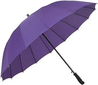 Umbrella Windproof & Waterproof Lightweight Travel Umbrella Business Professional or Daily Use Umbrella (Color : Purple)