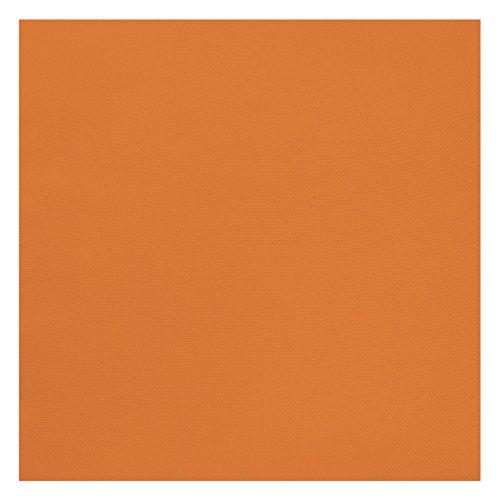 Nurtextil24 Leinen-Optik Meterware 15 Farben & 5 Maßen Stoff Blickdicht Polsterstoff 200 x 180 cm Orange