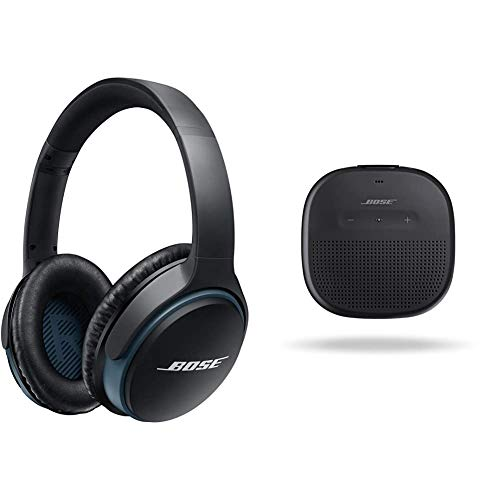 Bose SoundLink II Casque Circum-aural sans Fil - Noir & Enceinte Bluetooth SoundLink Micro - Noir