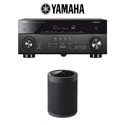 Learn More About Yamaha RX-A780 AVENTAGE 7.2-Channel AV Receiver + (1) WX-021 MusicCast 20 Wireless ...
