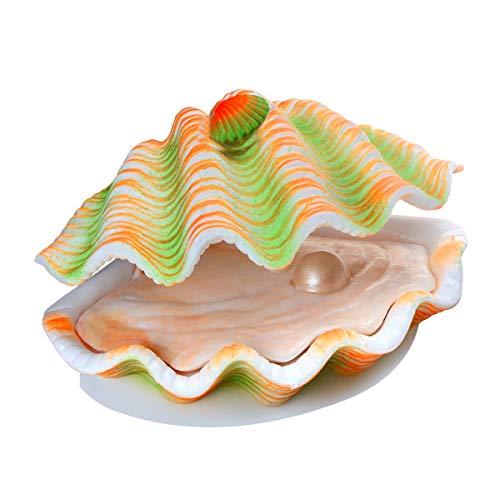 Saim Tropical Clam Live-Action Aerating Aquarium Ornament