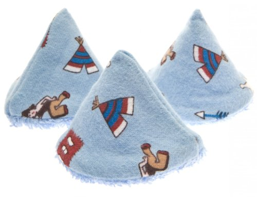 The Peepee Teepee for the Sprinkling WeeWee: 5 Wild West in Cellophane Bag by Beba Bean