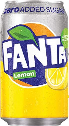 Fanta Citron Zéro 33cl (pack de 24)