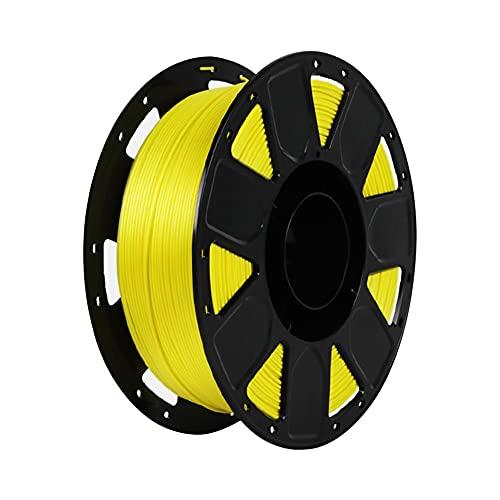 LI Q P R Precision PLA 3D filamento de impresora 1.75mm Dureza Consumibles Material con carrete (amarillo)