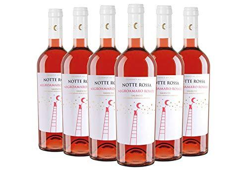 Salento IGT Negroamaro Rosato box da 6 bottiglie Notte Rossa 2018 0,75 L