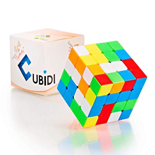 CUBIDI® Zauberwürfel 4x4 - Typ Sydney - ohne Sticker - Speedcube 4x4x4 mit optimierten Eigenschaften für Speed-Cubing - Magic Cube für Fortgeschrittene