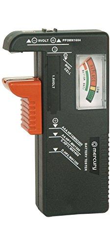 AirPromise Testeur de batterie universel pour piles AAA, AA, C, D et Botton, 1,5 V, 9 V, testeur de tension de batterie pour le recyclage des batteries (BT-168)