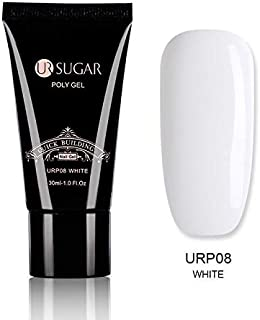 UR SUGAR 30ml Quick Poly UV Builder Gel for Nails Extension (White)