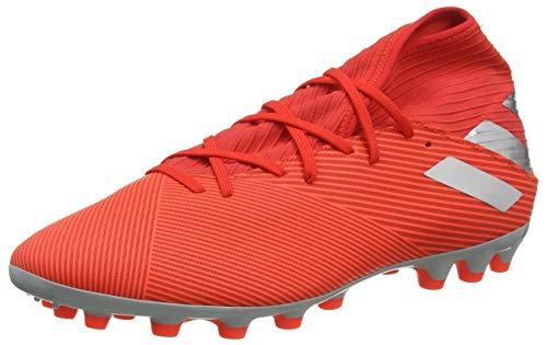 adidas Nemeziz 19.3 AG, Botas de Fútbol Unisex Adulto, Rouge Argent Rouge Solaire, 41 1/3 EU