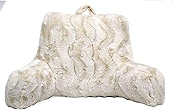 Better Homes and Gardens Beautyful Soft Faux Fur Backrest Pillow (Ivory, 1)