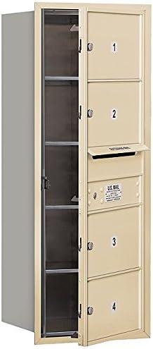 cheap Salsbury Industries 3710S-04SFP 4C Sandstone Horizontal Daily bargain sale Mailbox
